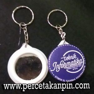 Pin Gantungan Kunci Cermin 44mm