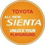 Toyota sienta pin