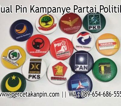 Jual PIN Kampaye Partai Politik